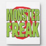 Monster Freak G Display Plaque