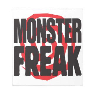 Monster Freak Memo Notepads