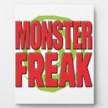 Monster Freak R Photo Plaque
