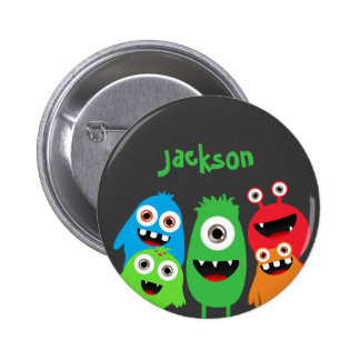 Monster Friends Pinback Button