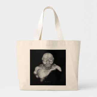 Monster from the Depths Canvas Bag