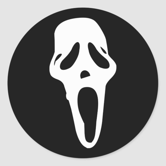 Monster - Ghost Classic Round Sticker