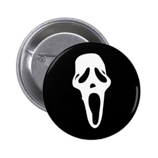 Monster - Ghost Pinback Button