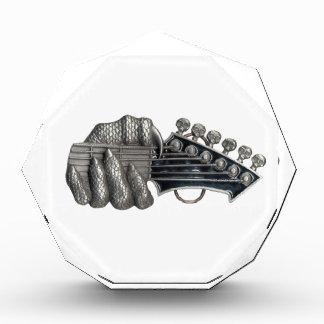 Monster Guitar Hand Acrylic Award
