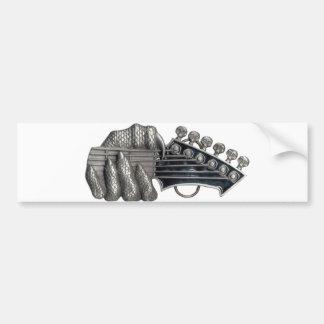 Monster Guitar Hand Bumper Sticker