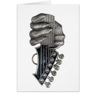 Monster Guitar Hand Card