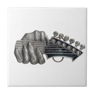 Monster Guitar Hand Ceramic Tile