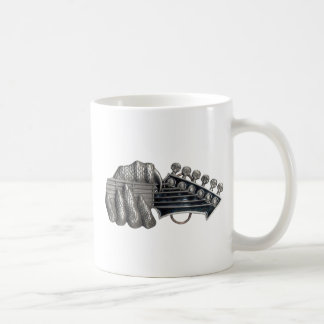 Monster Guitar Hand Coffee Mug
