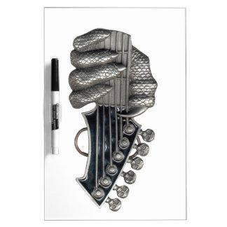 Monster Guitar Hand Dry Erase Board