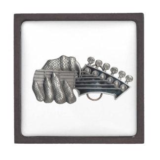 Monster Guitar Hand Jewelry Box