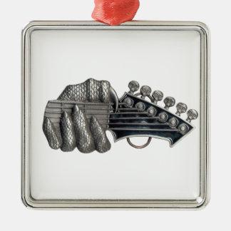 Monster Guitar Hand Metal Ornament
