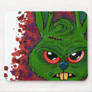 Monster hare mouse pad