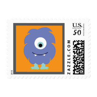 Monster Harry Stamp