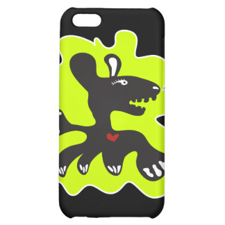 monster heart iphone case iPhone 5C cases