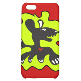 monster heart red iphone case iPhone 5C cover