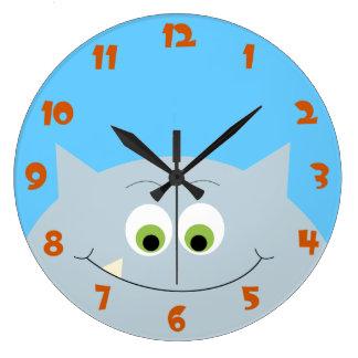 Monster Hello Clock