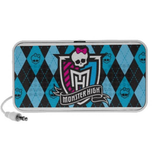 Monster high school caixinha de som para notebook