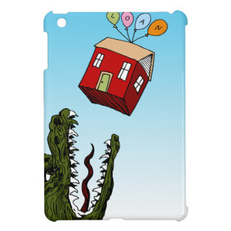 Monster Home Mortgage Loan Cartoon iPad Mini Cases