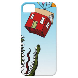 Monster Home Mortgage Loan Cartoon iPhone SE/5/5s Case