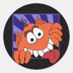 Monster Huey Sticker