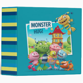 Monster Hugs 3 Ring Binder
