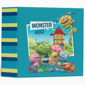 Monster Hugs Vinyl Binder