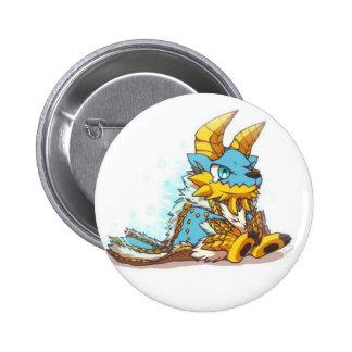 Monster Hunter Chibi zinogre Pinback Button