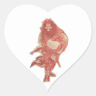 Monster Hunter Heart Sticker