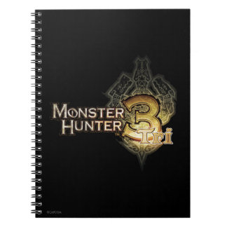 Monster Hunter Tri logo Notebook