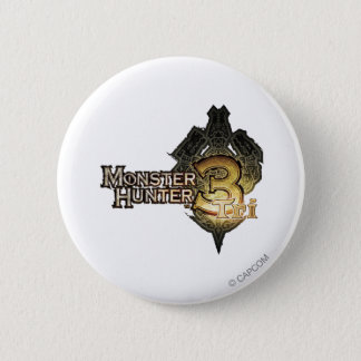 Monster Hunter Tri logo Pinback Button
