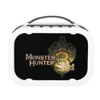Monster Hunter Tri logo Replacement Plate