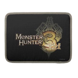 Monster Hunter Tri logo Sleeve For MacBooks