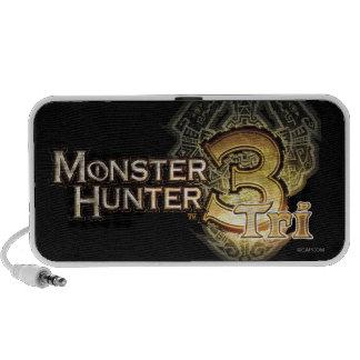 Monster Hunter Tri logo Mini Speaker