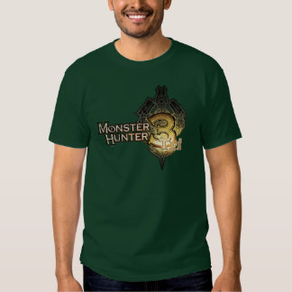 Monster Hunter Tri logo T Shirts