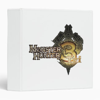 Monster Hunter Tri logo Vinyl Binder