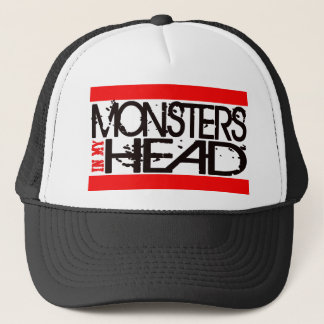 MONSTER IN MY HEAD TRUCKER HAT
