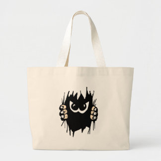 Monster in my tote bag!