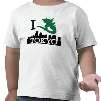 Monster in Tokyo Toddler Shirt