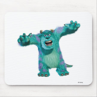 Monsters inc mouse pads zazzle monster inc sulley scary disney mouse pad voltagebd Image collections