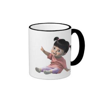 Monster Inc's Boo Disney Ringer Coffee Mug