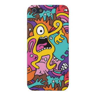 Monster iPhone cover!! Get your monster groove on! Cover For iPhone SE/5/5s