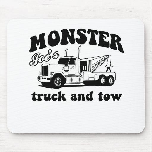 Monster Joe's Truck and Tow Mouse Pads