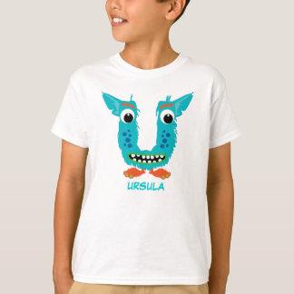 Monster Letters T-Shirt (Letter U)