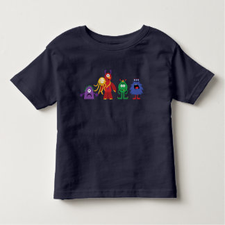 Monster Line toddler navy blue tee
