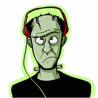 Monster Listening Buddy Cutout