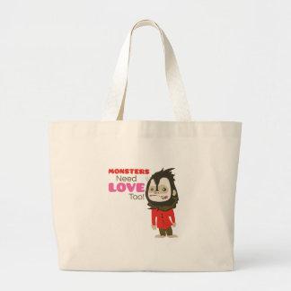 Monster Love Jumbo Tote Bag