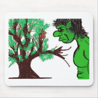 Monster Love Mouse Pad