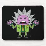 Monster Loves A Suit - Mousepad
