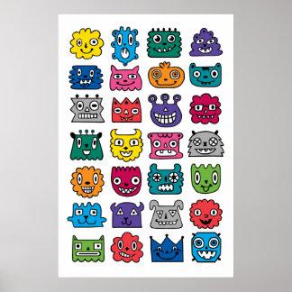 Monster Mash ipad mini Print