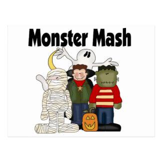 Monster Mash Postcard
